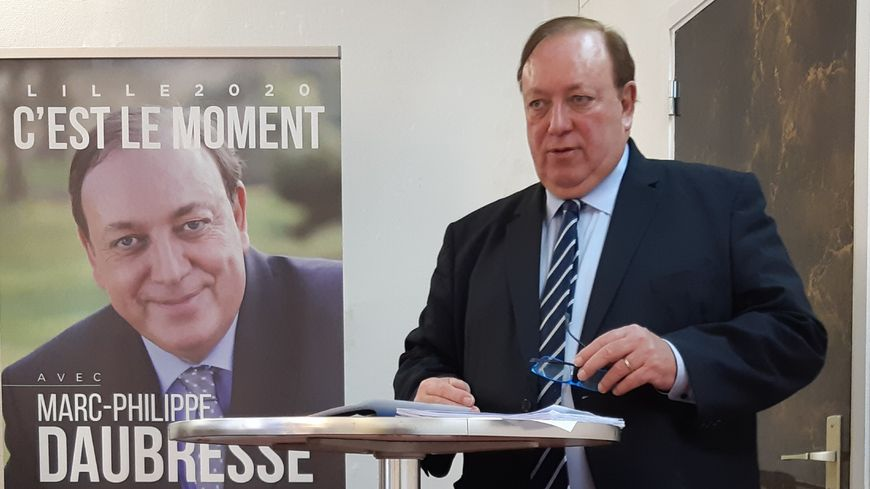 Marc-Philippe Daubresse, candidat Les Républicains aux élections municipales de Lille