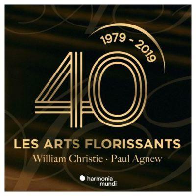 1979 - 2019 : 40 ans des Arts Florissants - William Christie - Paul Agnew