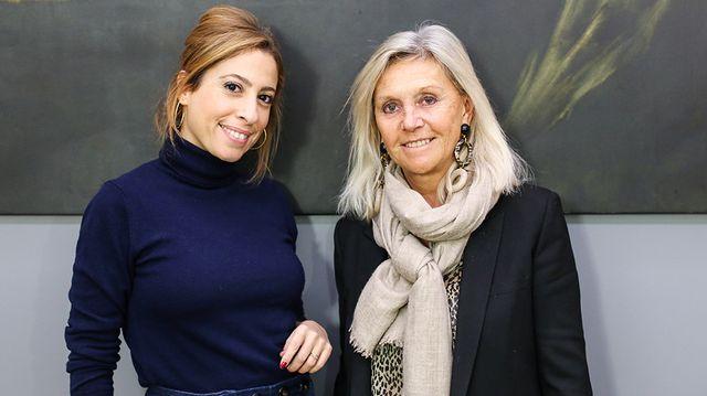 Léa Salamé et Anne Méaux