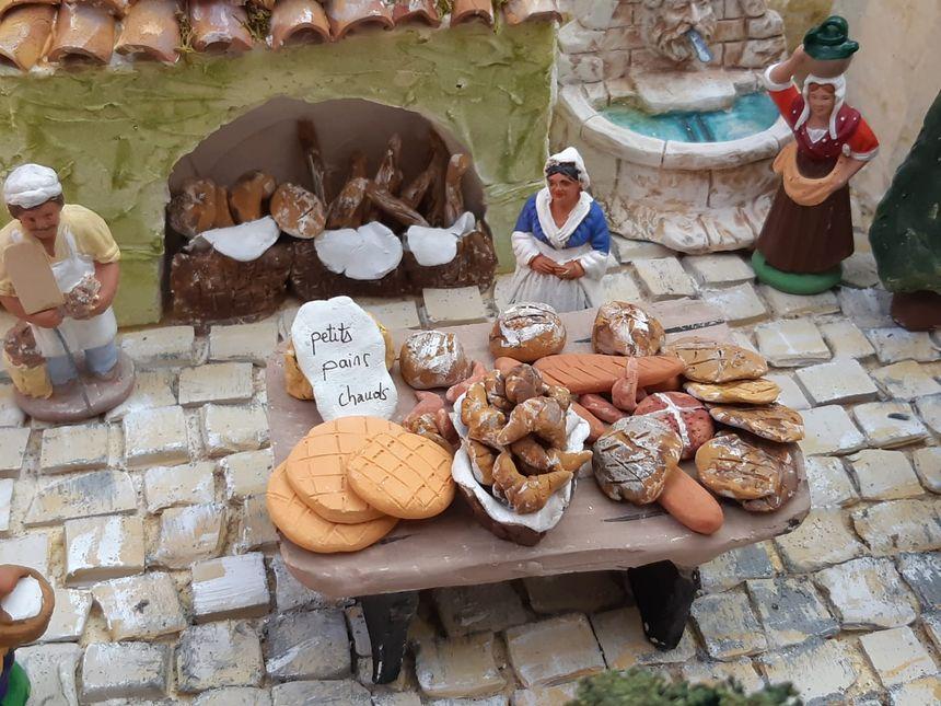 L'étal du boulanger