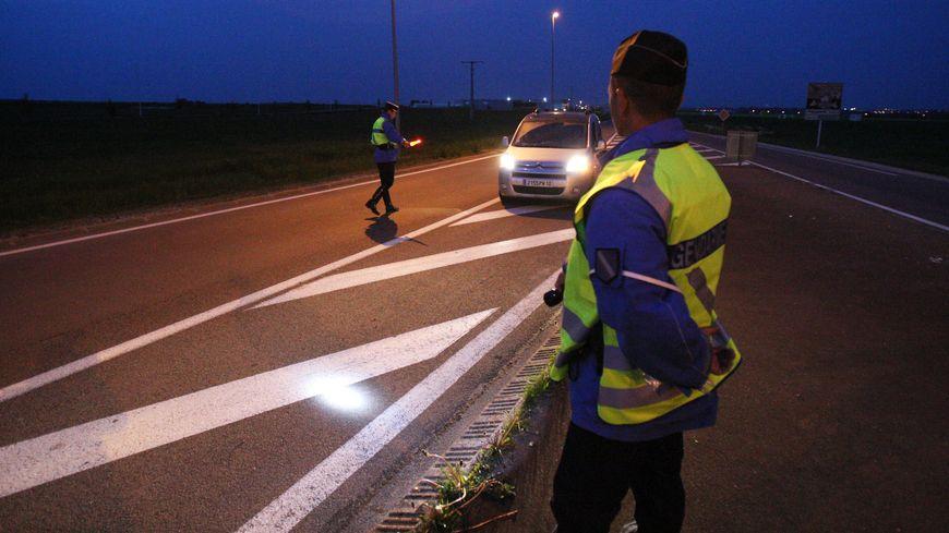 Une centaine de gendarmes seront mobilisés en Creuse lors du réveillon et le 1er janvier. (illustration).