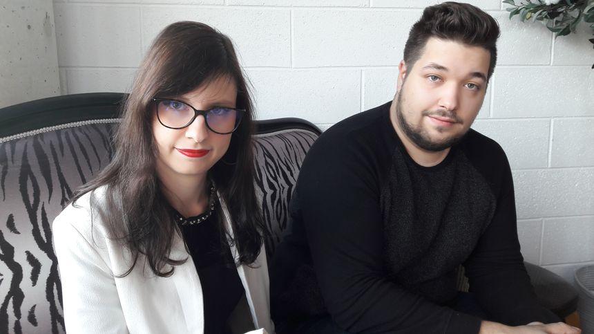 Marie-Ange et Charles, deux Strasbourgeois administrateurs des groupes Facebook, 2 décembre 2019