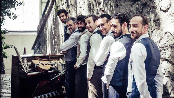 Les Frivolités parisiennes ; Valentine Lemercier et Paul Montag ; The Curious Bards ; Hot Sugar Band