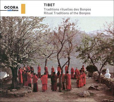 """L'album """"Tibet - traditions rituelles des bonpos"""", sorti en octobre 2019 sur Ocora"""