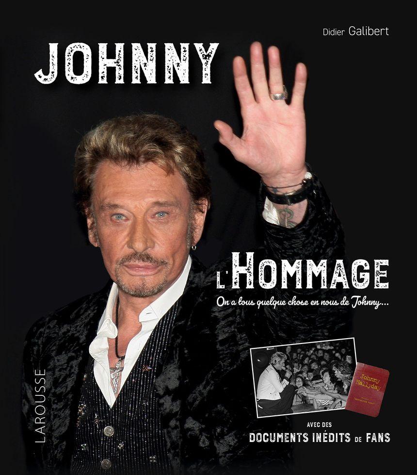 """couverture du livre """"Johnny l'hommage"""