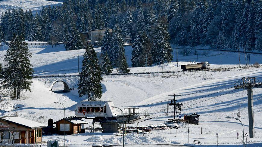 Les premières neiges sont arrivées dans le Haut-Jura en novembre dernier.