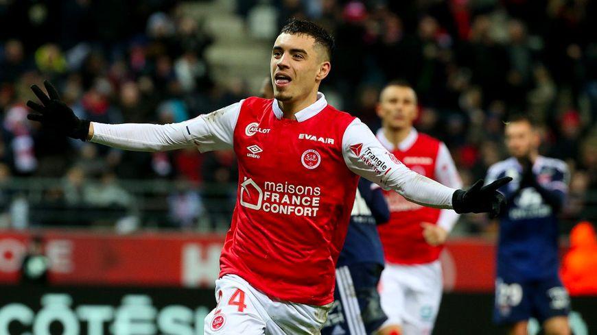 Mathieu Cafaro a permis au Stade de Reims d'égaliser sur penalty.