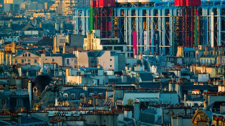Le centre Pompidou à Paris