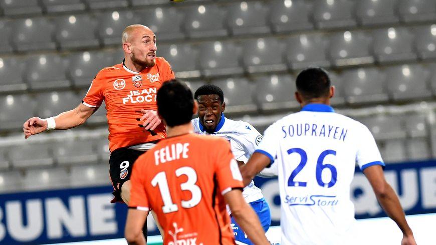 AJA-FC Lorient en décembre 2018.