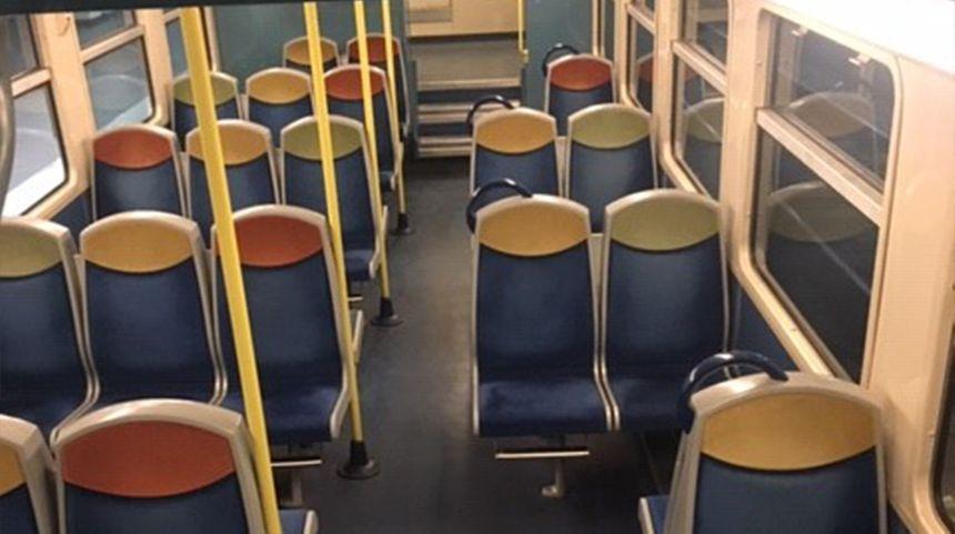 RER C ce jeudi matin.
