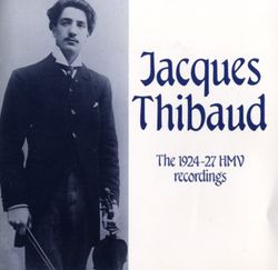 Granados, spanish dance in d - JACQUES THIBAUD
