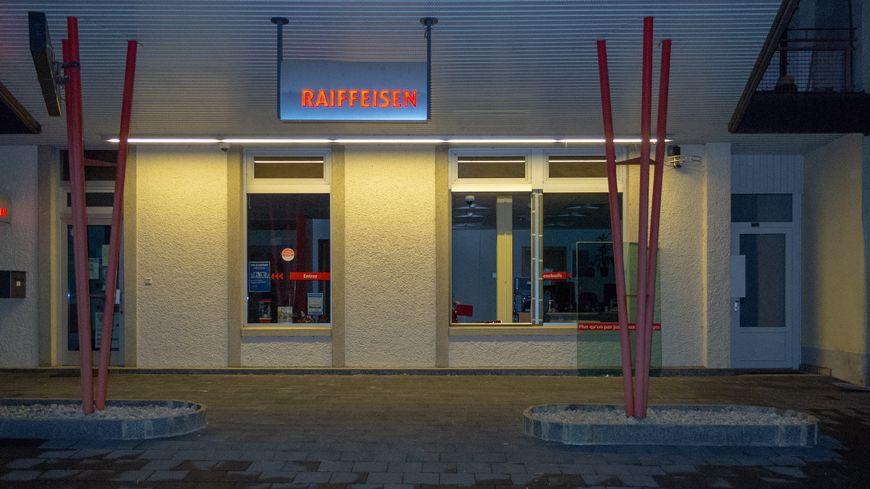 La banque Raiffeisen de Fahy, cambriolée dans le nuit de jeudi à vendredi