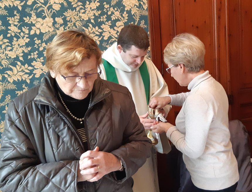 L'eucharistie dans la salle à manger
