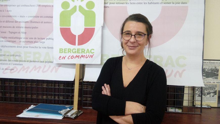 """Julie Téjérizo a été désignée tête de liste de l'alliance du Parti communiste, de la France Insoumise et de génération-s, baptisée """"Bergerac en commun"""""""