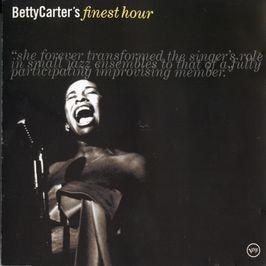 "Pochette de l'album ""Betty Carter's finest hour"" par Betty Carter"