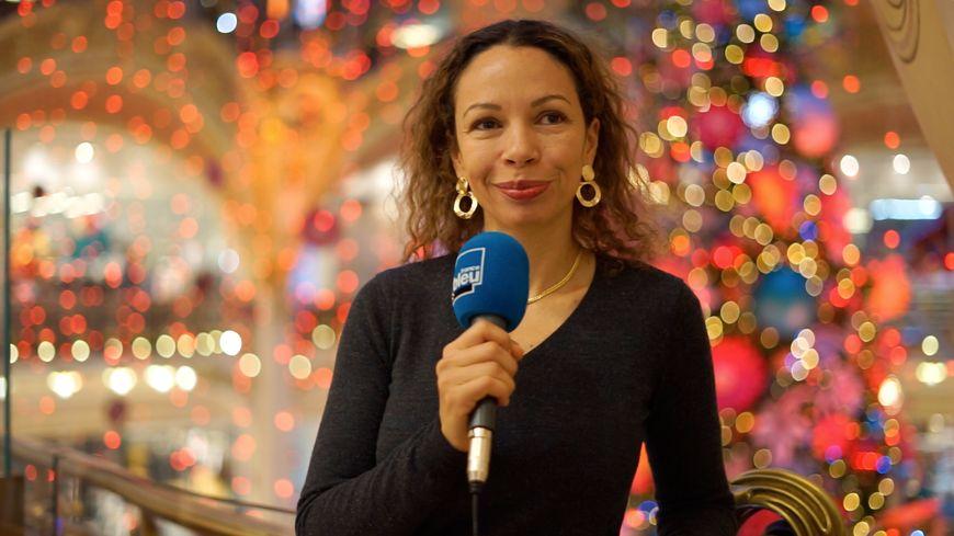 Corinne Buyse, responsable de la scénographie événementielle aux Galeries Lafayette