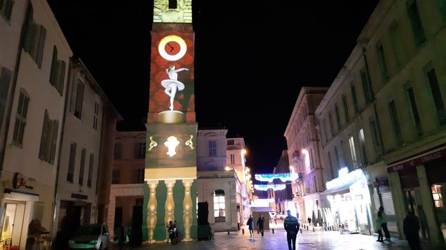 La Tour de l'Horloge servira une nouvelle fois de support aux projections