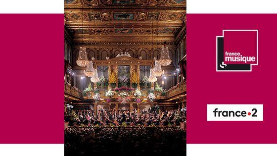 """La """"Salle dorée"""" du Musikverein à Vienne"""