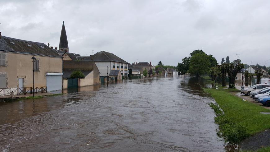 La commune de Fay-aux-Loges avait été particulièrement touchée par les inondations de 2016 dans le Loiret