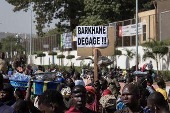 Manifestation mi novembre à Bamako au Mali contre l'opération militaire française Barkhane