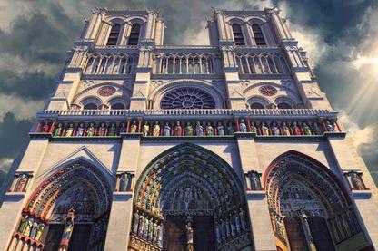 L'évêque Maurice de Sully est mort en 1196, sans avoir vu terminée l'œuvre de sa vie.