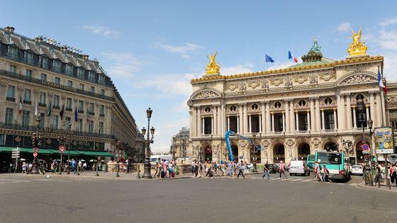 Le Palais Garnier à Paris, principal lieu d'accueil du ballet de l'Opéra de Paris