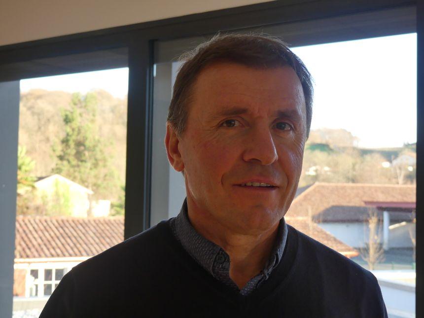 Le maire de Baigorry, Jean-Michel Coscarat