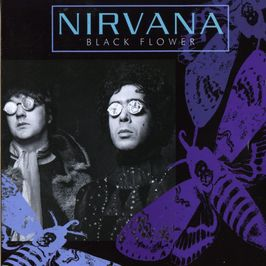 "Pochette de l'album ""Black flower"" par Nirvana"