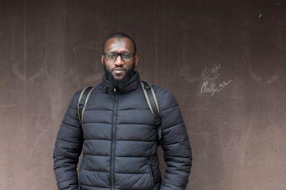 Boubacar Dramé, à Gennevilliers. Décembre 2019.