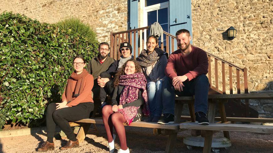 Au total, ils seront 18 à passer le nouvel an dans les gîtes du pré des Vergnes en Creuse.