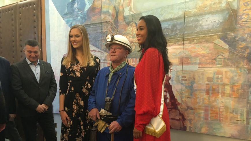 Clémence Botino, Miss France 2020 a fait sa première sortie en région à Saint-Avold en Moselle