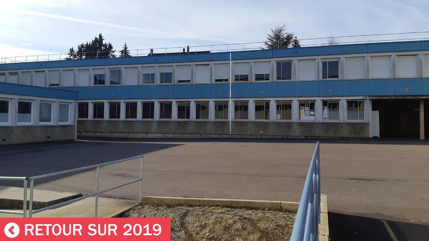 Le collège Bienvenu Martin à Auxerre a fermé
