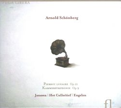 Pierrot lunaire op 21 (intégrale) : Mondestrunken - melodrame en 3 parties pour recitant et 5 instruments - HET COLLECTIEF
