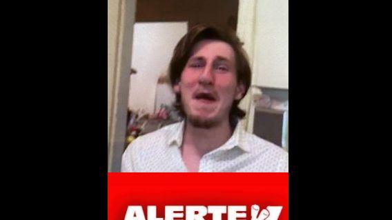 Photo du jeune homme disparu diffusée sur la page facebook de la gendarmerie du Cher