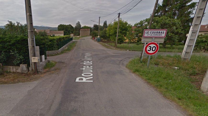L'homme a été retrouvé lundi midi sur la route de Verniolle à Varilhes, au lieu-dit le Courbas.