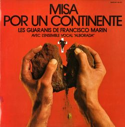 Misa por un continente : 4. Sanctus - pour solistes ensemble vocal et instrumental - VIRGILIO ROJAS