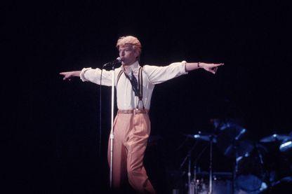 David Bowie en 1980, année de Ashes to ashes