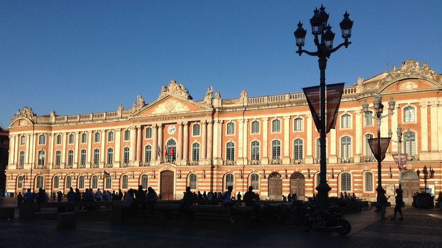 Le Capitole, l'hôtel de ville de Toulouse.
