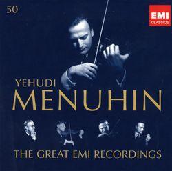 Mélodies : The man I love - YEHUDI MENUHIN