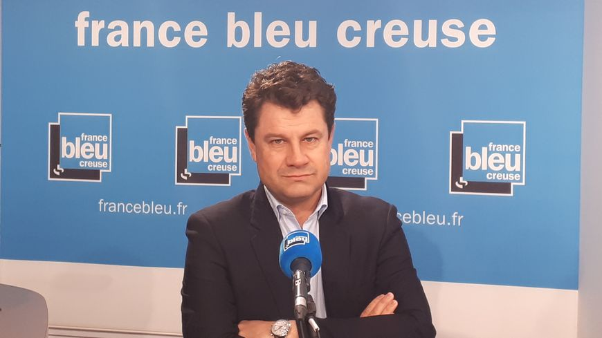 Vincent Turpinat, maire de Jarnages et suppléant du député LREM de la Creuse