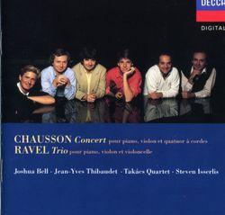Trio en la min : II. Pantoum - pour violon violoncelle et piano - JOSHUA BELL