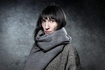Catherine Meurisse, illustratrice, dessinatrice de presse et autrice de bande dessinée à la 46e édition du Festival international de la bande dessinée d'Angoulême le 27 janvier 2019.
