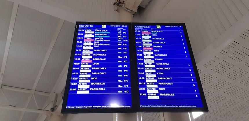 Retour à la normale à l'aéroport d'Ajaccio