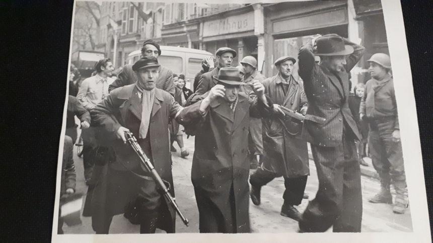 Arrestation de civils allemands en Moselle en 1944