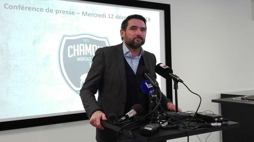 Karim Fradin, le président des Chamois