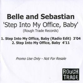 """Pochette de l'album """"Step into my office, baby'"""" par Belle And Sebastian"""