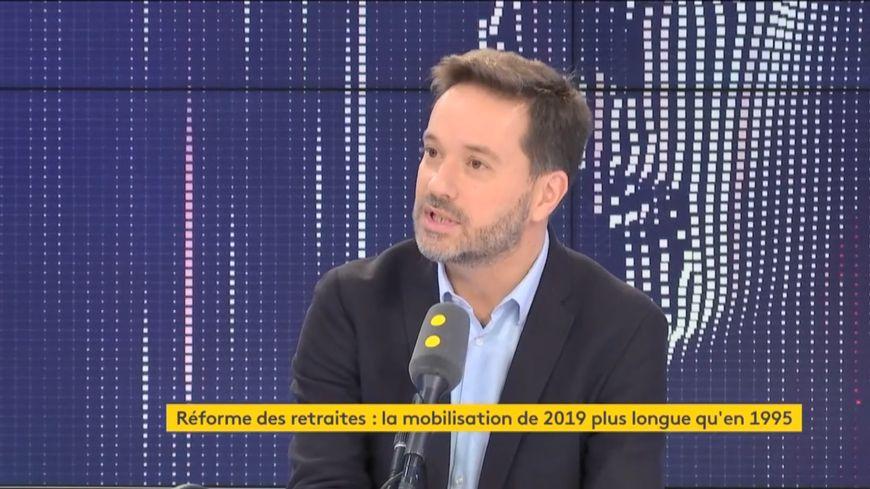 """Le député des Landes Lionel Causse était l'invité était l'invité du """"8h30 franceinfo"""" vendredi 27 décembre."""