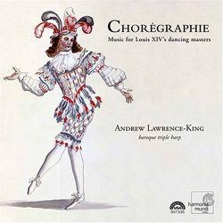 Les folies d'Espagne - pour harpe triple - ANDREW LAWRENCE-KING