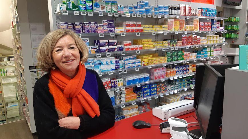 Catherine largo était seule dans sa pharmacie de Bergerac ce dimanche 29 décembre où elle a vu défiler 190 personnes dont une centaine pour la gastro.