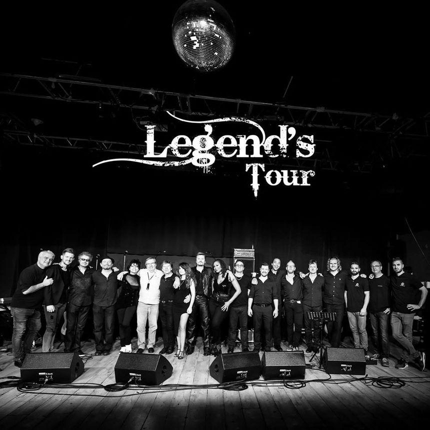 L'équipe de Legend's Tour